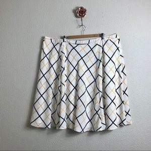 Modcloth Bea & Dot 4X Midi Skirt